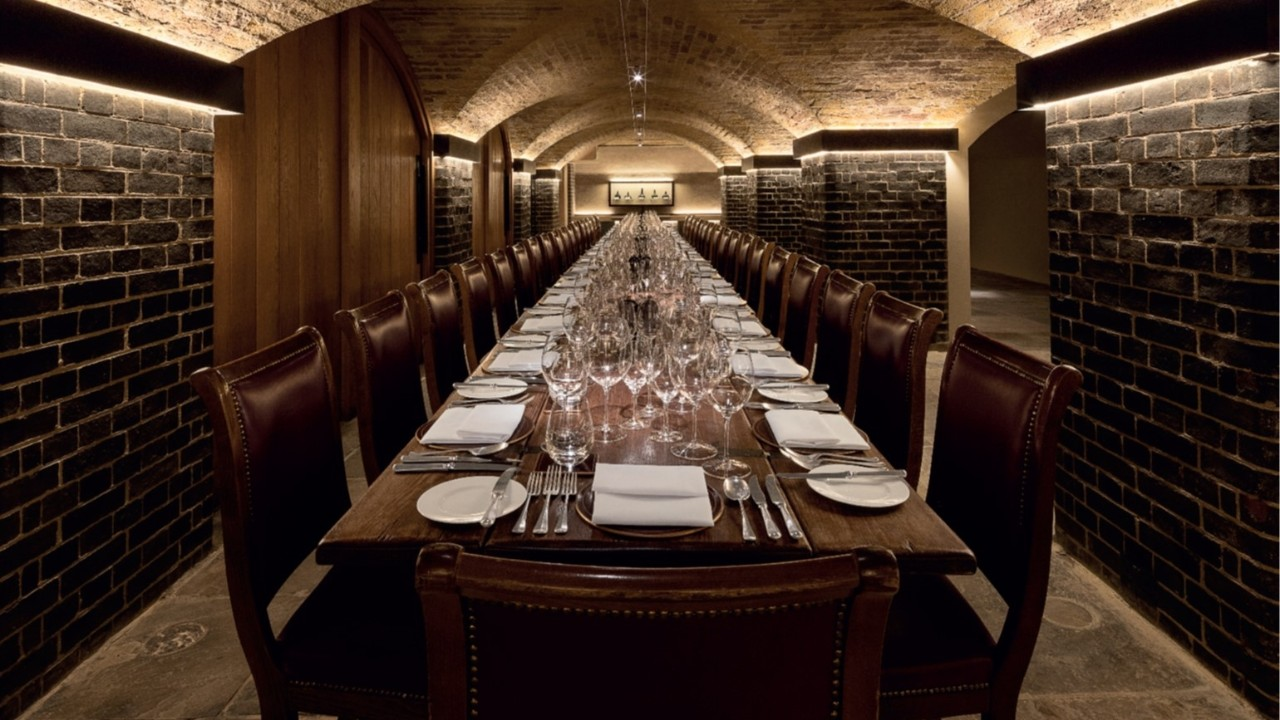 Napoleon Cellar at Berry Bros. & Rudd; image used for HSBC Jade bespoke Lifestyle.