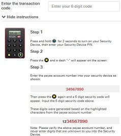 Security Device | Online and Banking Security - HSBC HK